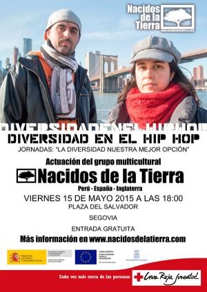 Nacidos de la Tierra en Segovia - Jornadas la diversidad nuestra mejor opción